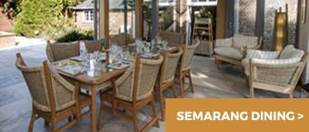 Semarang Dining - Garden Room Furniture