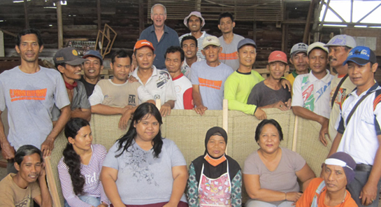Fairtrade furniture partners in Indonesia