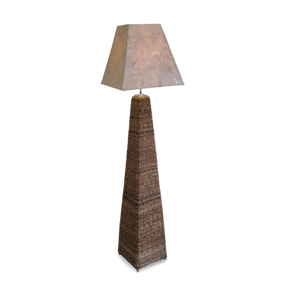 Floor Lamp, Recycled Card Shade, Fair Trade Furniture