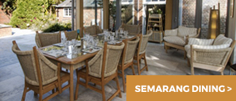 Semarang Dining - Garden Room Furniture