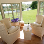 Jogya chairs in summer house