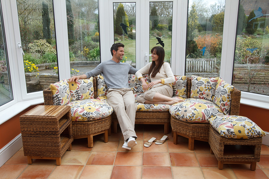 Luxury conservatory furniture for Prefab conservatory