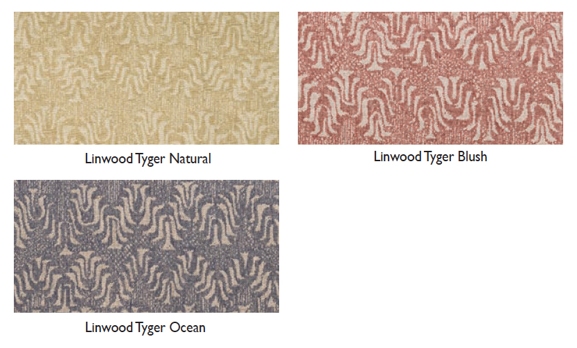 Linwood tyger swatches